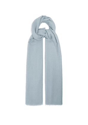 Denis Colomb - Nomad Woven Cashmere Scarf - Womens - Blue