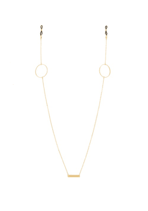 Frame Chain - Loop De Loop Gold-plated Glasses Chain - Womens - Yellow Gold