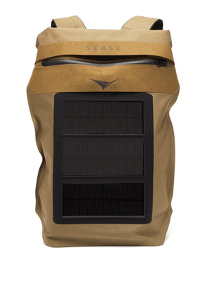 Sease - Mission Solar-powered Technical Canvas Backpack - Mens - Camel