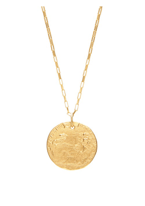 Alighieri - Il Leone 24kt Gold-plated Necklace - Mens - Gold