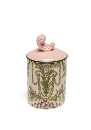 Gucci - Fumus Cameo Scented Candle - Pink Multi