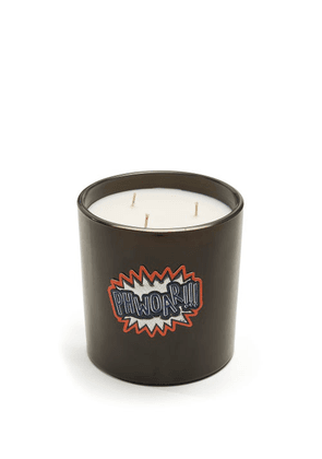 Anya Hindmarch - Anya Smells Toothpaste Large Scented Candle - Black Multi