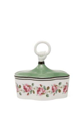 Gucci - Floral Porcelain Trinket Box - Green Multi