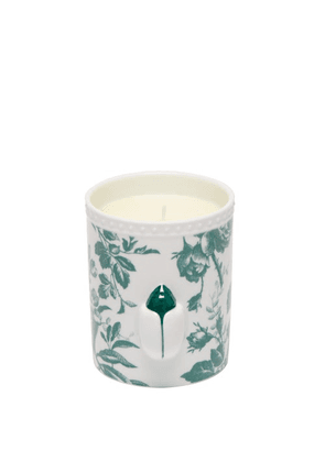 Gucci - Herbosum Ladybug Floral Print Porcelain Candle - Green White