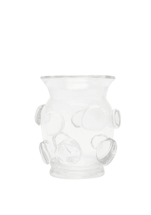 Aerin - Abel Small Glass Vase - Clear