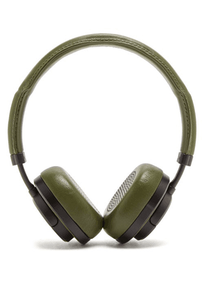 Master & Dynamic - Mw50 Leather On-ear Wireless Headphones - Mens - Green