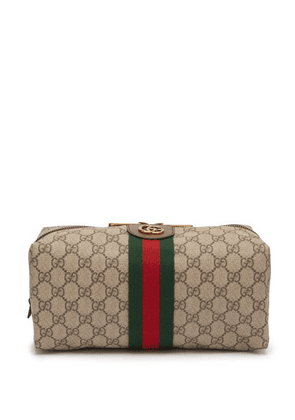 Gucci - Ophidia Gg Supreme Wash Bag - Mens - Beige Multi