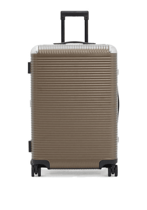 Fabbrica Pelletterie Milano - Bank Light Spinner 68 Polycarbonate Suitcase - Mens - Beige