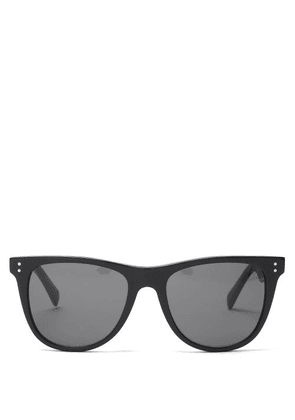 Celine Eyewear - Square-frame Acetate Sunglasses - Mens - Black