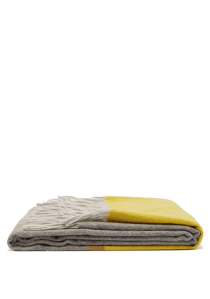 Begg & Co. - Arran Borderland Cashmere Blanket - Yellow