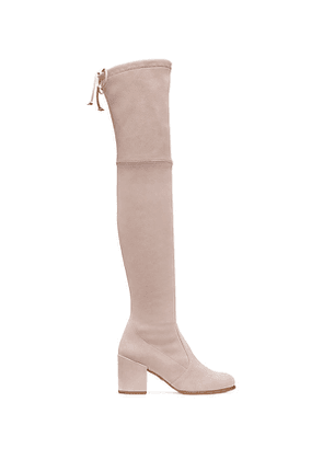 Stuart Weitzman - The Tieland Boot In Dolce Taupe - Size 41