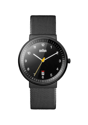 Classic Stainless Steel Mesh Strap Watch