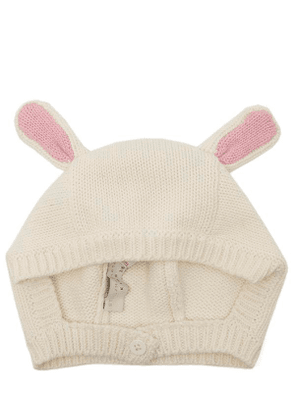 Knit Hat With Pink Ears 3-24 Months