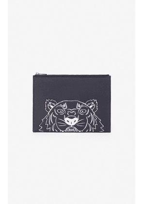 KENZO A4 Tiger pouch
