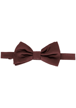 Dolce & Gabbana hooked bow tie - Brown