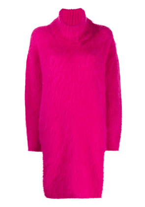 Gianluca Capannolo textured knit dress - PINK