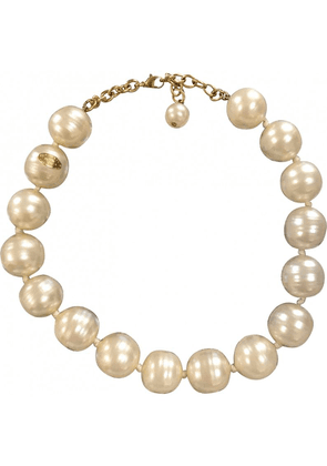 Vintage Chanel Extra Large Classic Faux Baroque Pearl Necklace. Get A Chic And Modern Chanel Look.