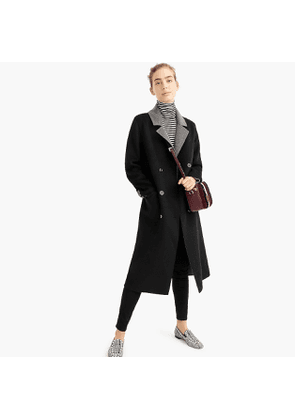 Universal Standard for J.Crew double-faced coat
