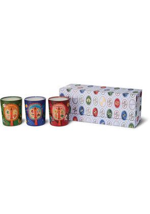 Diptyque - Lucky Charms Scented Candle Set, 3 X 70g - Colorless