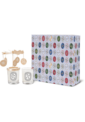 Diptyque - Roses And Baies Carousel Set, 2 X 70g - Colorless
