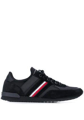Tommy Hilfiger Icon signature tape sneakers - Black