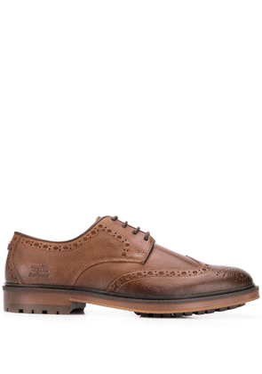 Barbour lace-up brogues - Brown