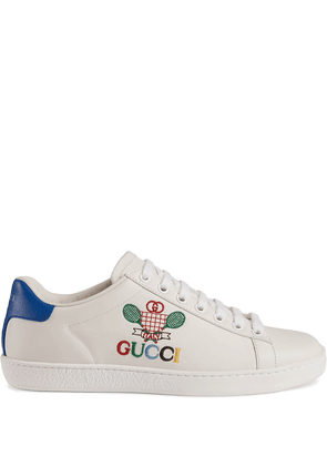 Gucci Ace sneakers with Gucci Tennis - White