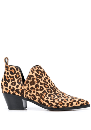 Dolce Vita Sonni leopard-print ankle boots - Brown