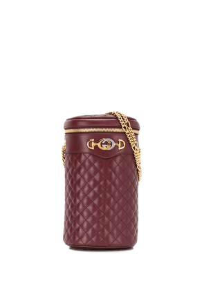 Gucci quilted leather belt bag - Red
