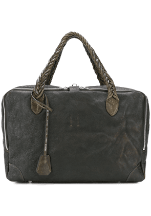 Golden Goose distressed effect holdall - Green