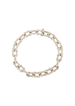 Parts of Four chunky chain necklace - Silver
