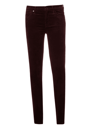 7 For All Mankind slim-fitted trousers - Red