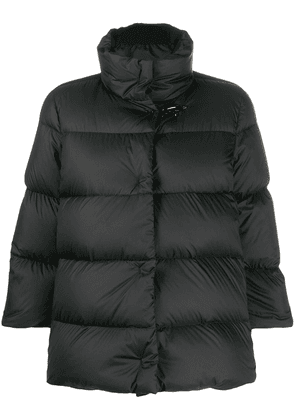 Fay padded fitted jacket - Black