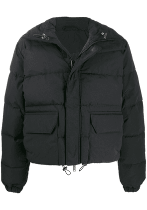 Unravel Project high neck puffer jacket - Black