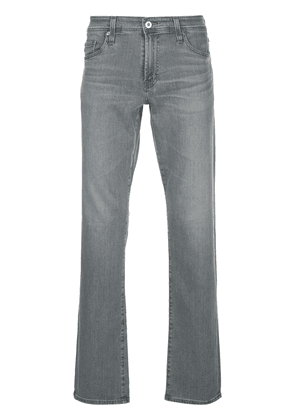 AG Jeans Graduate straight-leg denim jeans - Grey