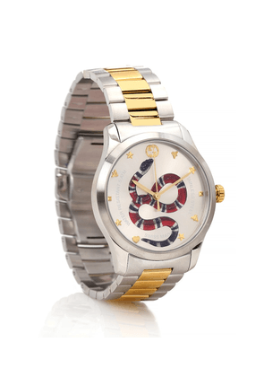 G-Timeless 38mm stainless steel watch