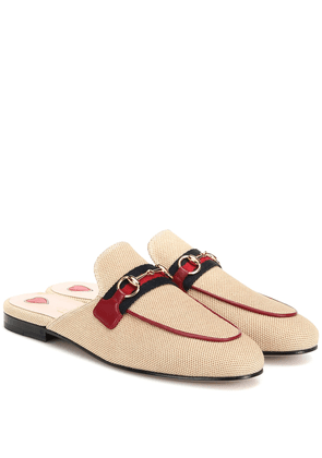 Princetown canvas slippers