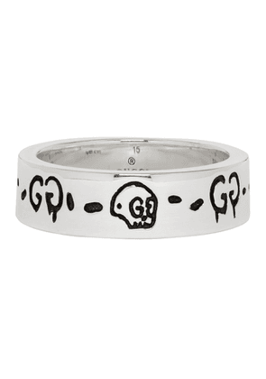 Gucci Silver Ghost Ring