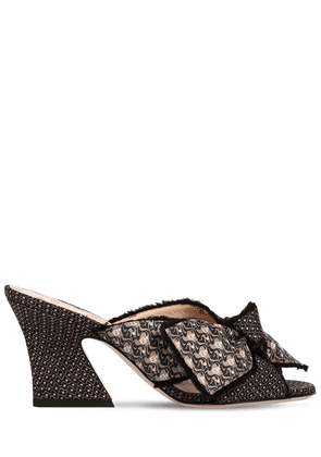 75mm Freedom Jacquard Mules Sandals