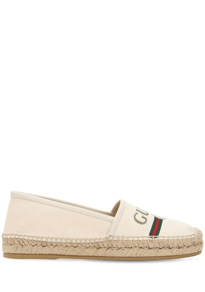 20mm Cotton Canvas Espadrilles