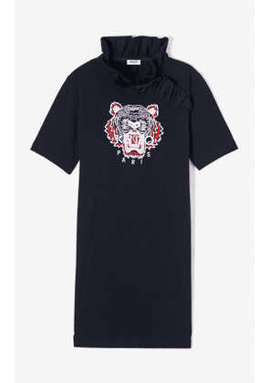KENZO Tiger ruffled collar dress
