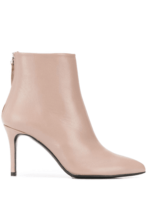 Albano pointed ankle boots - NEUTRALS