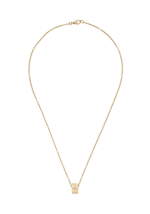 Gucci 18kt yellow gold Icon necklace