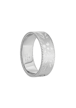 Gucci 18kt white gold Icon ring - Silver