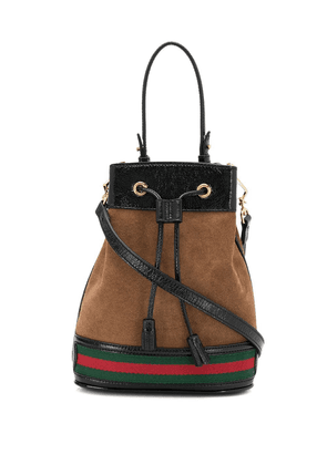 Gucci Bolso Ophidia bucket bag - Brown