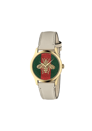 Gucci G-Timeless watch, 38mm - White