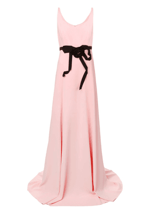 Gucci floral embellished gown - Pink