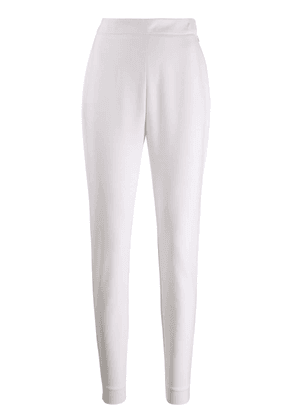 Balmain slim fit tailored trousers - White