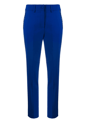 Blumarine cropped trousers - Blue
