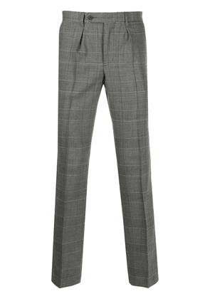 Hackett check tailored trousers - Grey